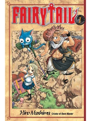 cover image of Fairy Tail, Volume 1
